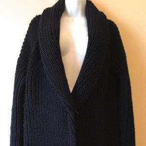 J. Crew Collection Bonded Wool Sweater-Jacket